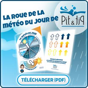 Télécharger la roue de la météo Pit&Pit