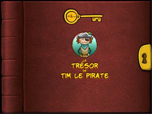 Livre Le trésor de Tim le pirate