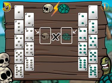 Application de Batailles de multiplications (écran d'aperçu)