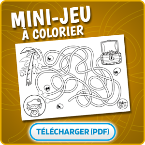 mini jeu à imprimer labyrinthe tim le pirate