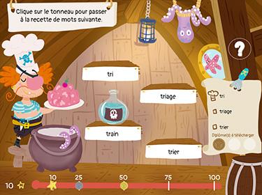Application pour identifier les mots Toqué des mots (aperçu écran d'accueil)