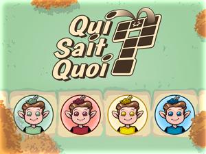 Présentation de l'application QuiSaitQuoi