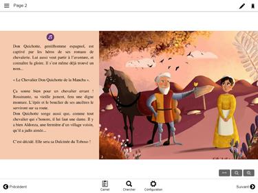 Aperçu livre Don Quichotte